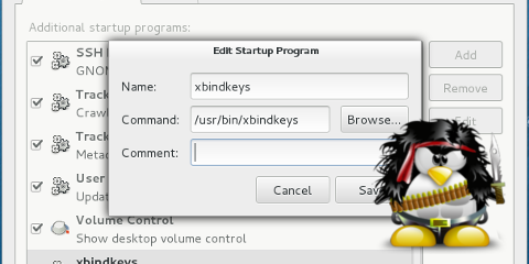 Linux'da Fare Butonlarına İşlev Atama